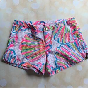 Lilly Pulitzer shellabrate shorts